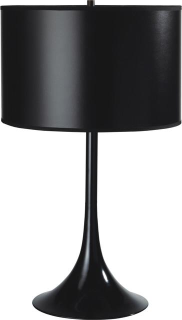 Shoshana Modern 20&x27;&x27; Table Lamp, Black.
