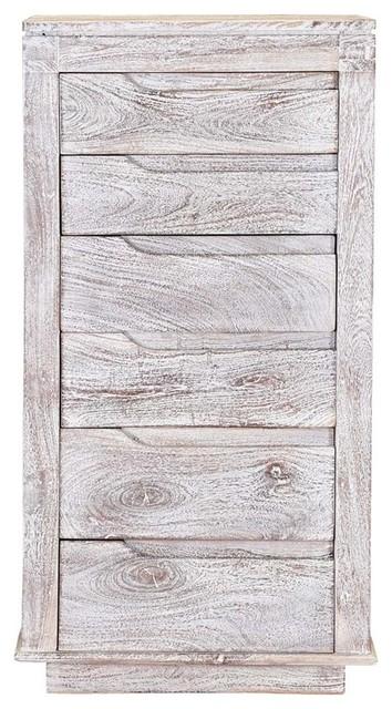 6 Drawer Tall Dresser Chest