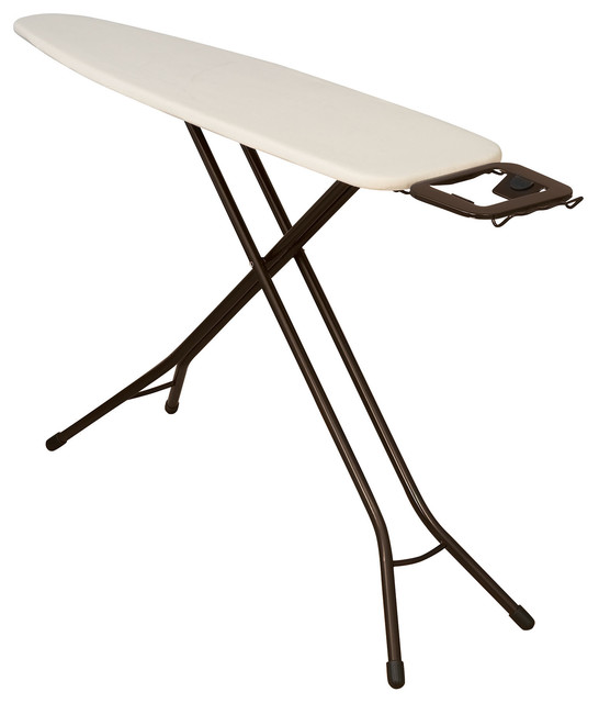 Ironing Board With Iron Holder.