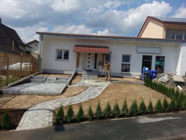 Aussenanlage neubau erneuerung gartenanlage baumhaus for Gartengestaltung neubau