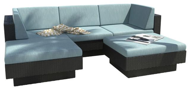 Laguna 5-Piece Patio Sofa.