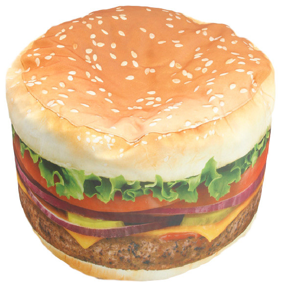 Super Hamburger Adult Sized Beanbag Gmtry Best Dining Table And Chair Ideas Images Gmtryco