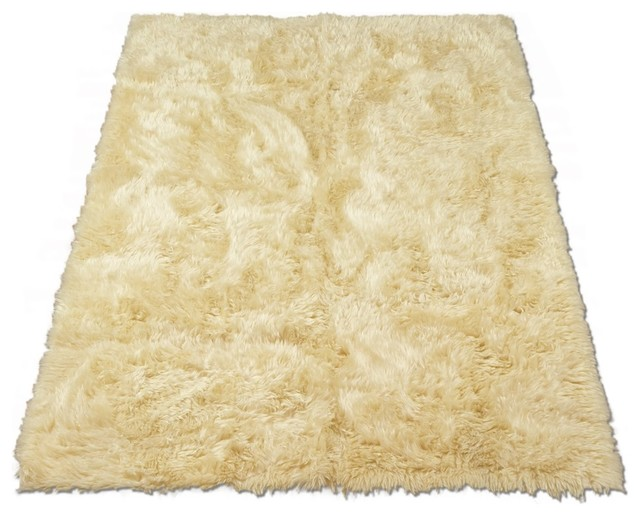 faux fur sheepskin rug ivory
