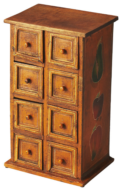Butler nina solid wood jewelry case farmhouse jewelry for Solid wood jewelry chest