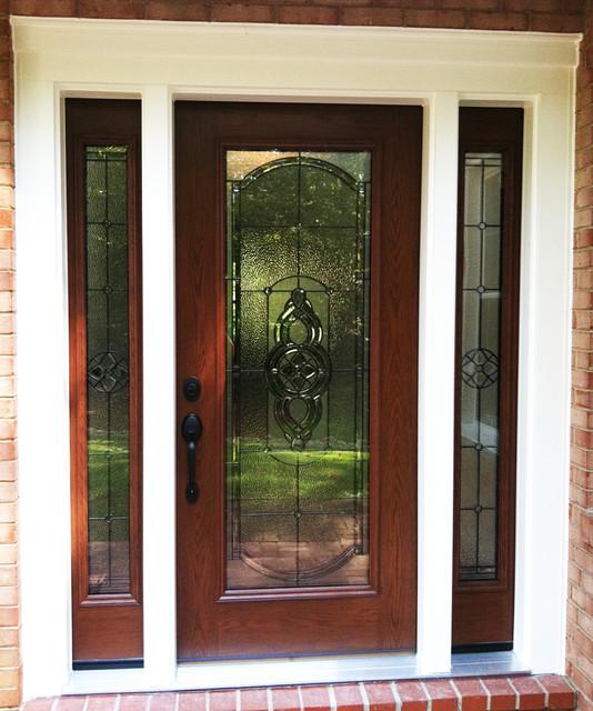 Doors modern front doors dc metro by nova exteriors for All glass storm door