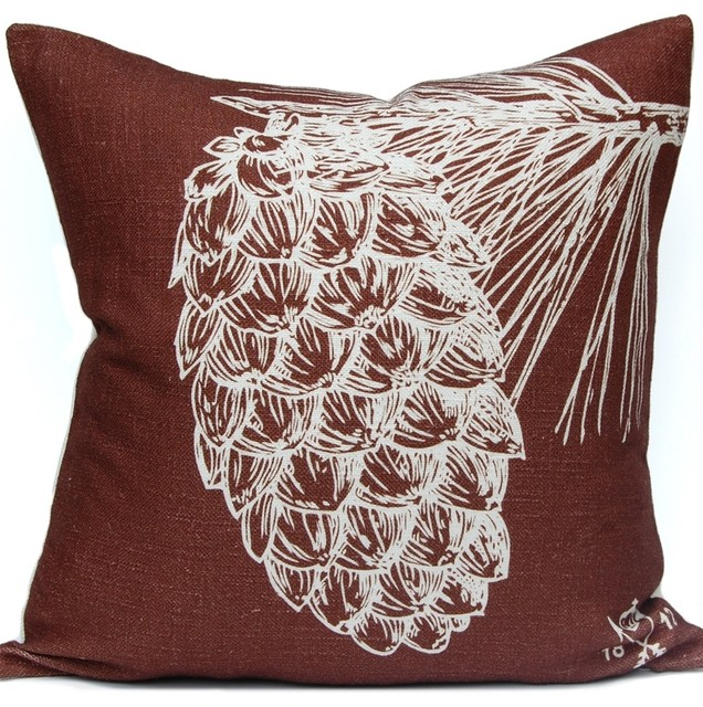 Pine Cone Pillow Rustic Decorative Pillows By Company 40 Magnificent Pine Cone Decorative Pillows