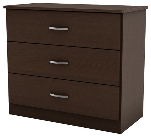 South Shore Libra Kids 3-Drawer Chest, Chocolate