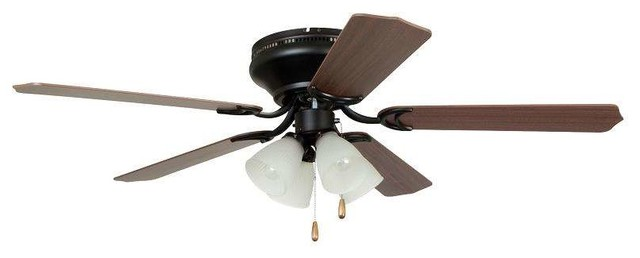 Ellington Brc52orb5c Brilliante 42 Ceiling Fan, Oil Rubbed Bronze.