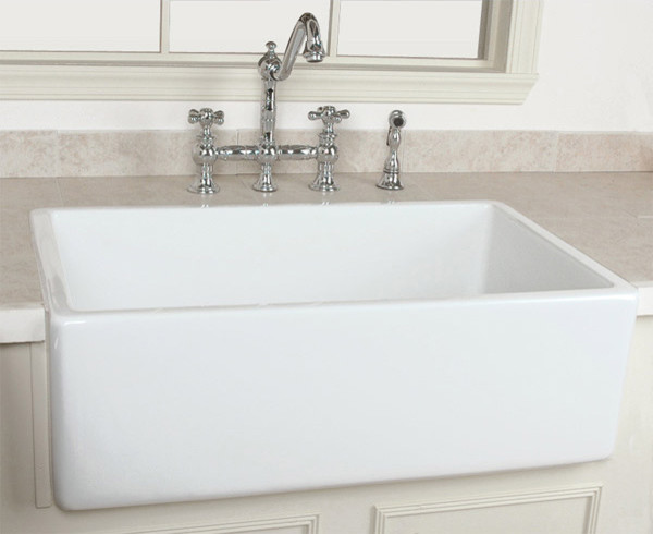 Farmhouse Sink - Traditional - Kitchen Sinks - by Vintage Tub & Bath