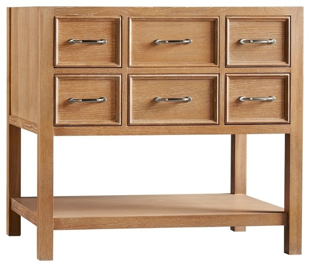 Ronbow Newcastle Solid Wood 36 Quot Vanity Cabinet Base