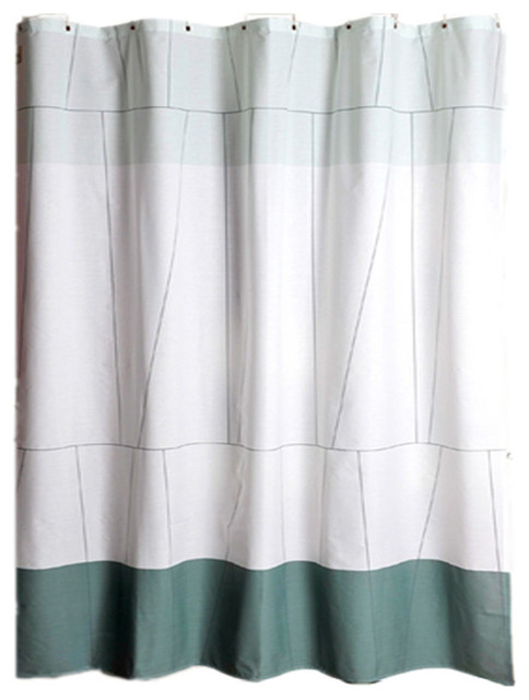 Nordic Style Japanese Curtain Bathroom Waterproof Thickening A2