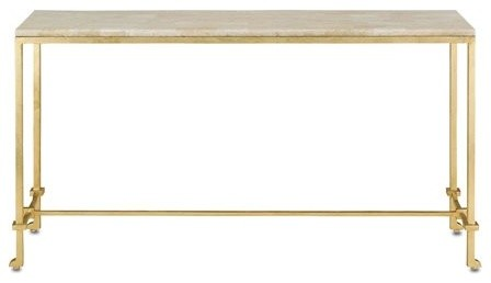 Currey And Company 62x17 Delano Console Table.