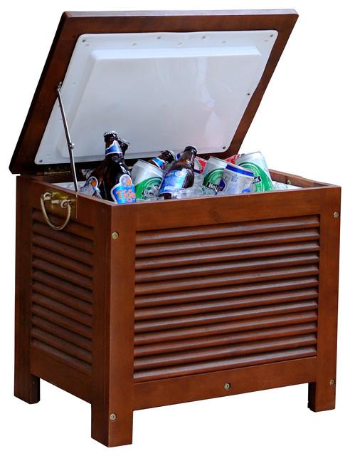 Wooden Patio Cooler.