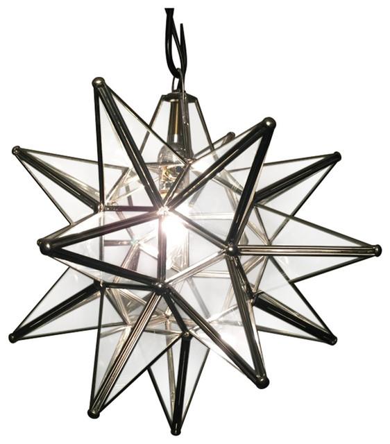 quintana roo moravian star light pendant lighting houzz. Black Bedroom Furniture Sets. Home Design Ideas