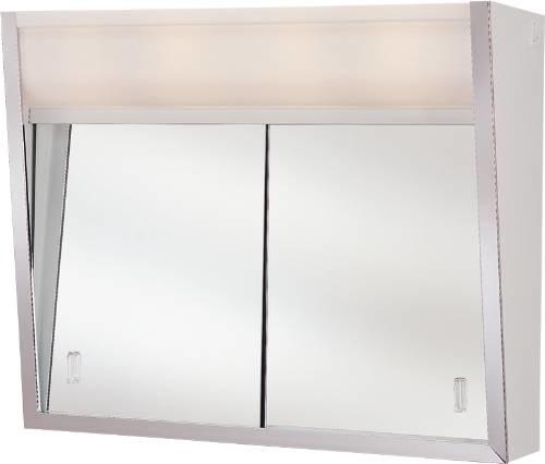 Shop Houzz | JENSEN INDUSTRIES Med Cabinet 2-Light 24X20 - Medicine Cabinets