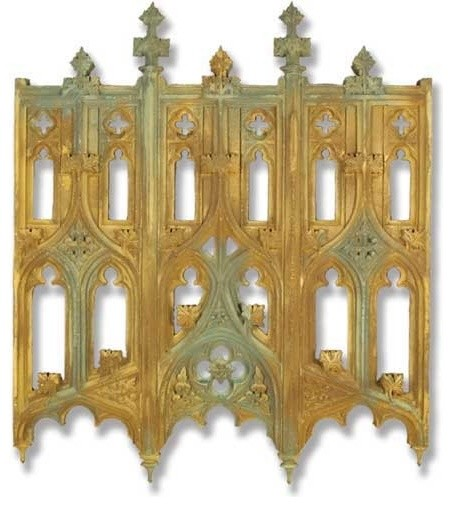 John Michael Tracery 37, Architectural Friezes,Traceries And Tiles  Traditional Wall Sculptures