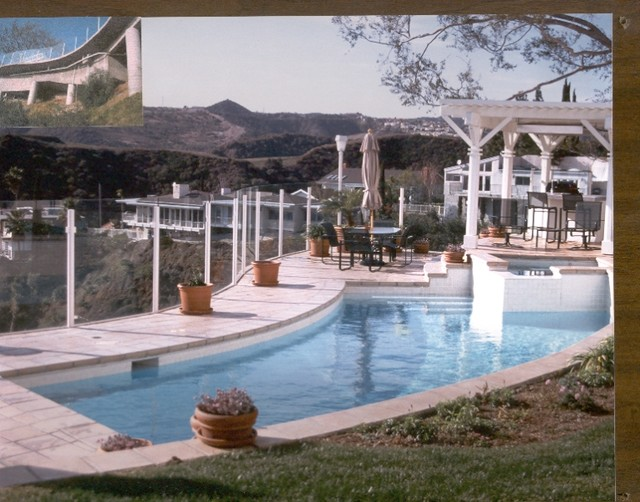 Traditional And Formal Pools Los Angeles By Symphony Pools Inc