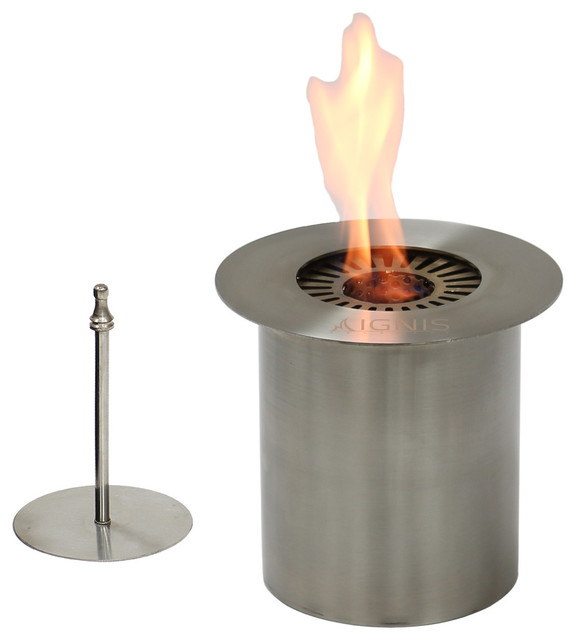 Ignis eb150 round ethanol fireplace burner 6 outdoor for Ethanol outdoor fire pit