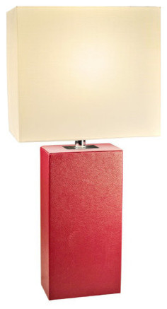 All The Rages Lt1025 Elegant Designs 21 Height 1 Light Table Lamp With Rectangl.