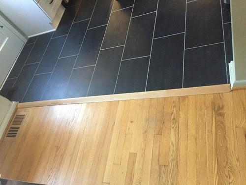 Flooring Transition Is Tripping Hazard