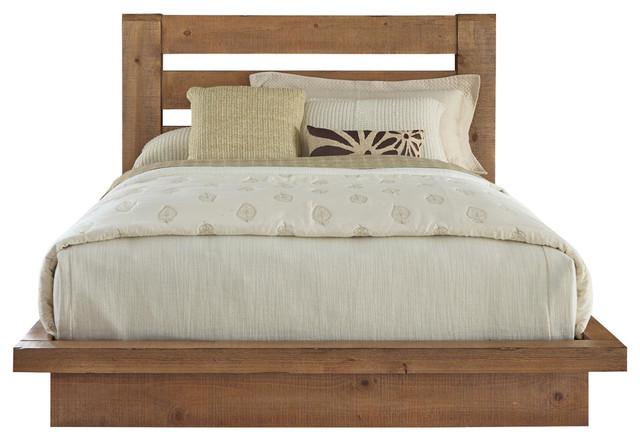 Willow Platform Bed, Queen.