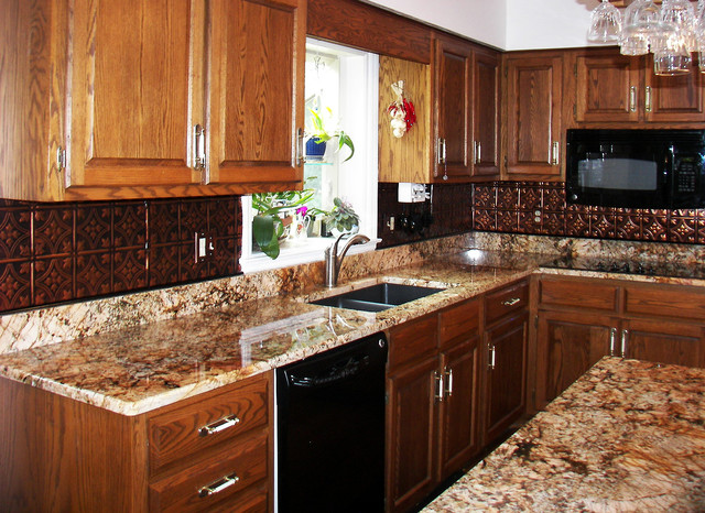tin backsplash contemporary tile tampa by american tin