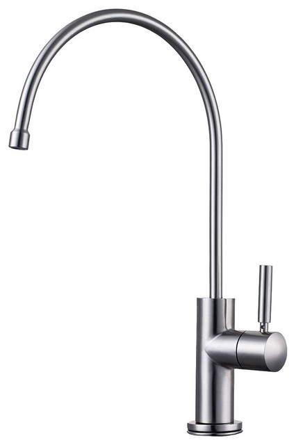 Ab5008 Bss Solid Brushed Stainless Steel Drinking Water Dispenser Contemporary Kitchen Faucets By Bisonoffice
