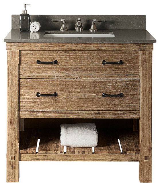 Stupendous Fairmont Designs Napa 36 Single Vanity Sonoma Sand 2Cm White Carrera Marble To Caraccident5 Cool Chair Designs And Ideas Caraccident5Info