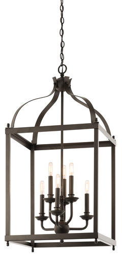 Kichler 42568oz Larkin 6 Light Indoor Pendant.