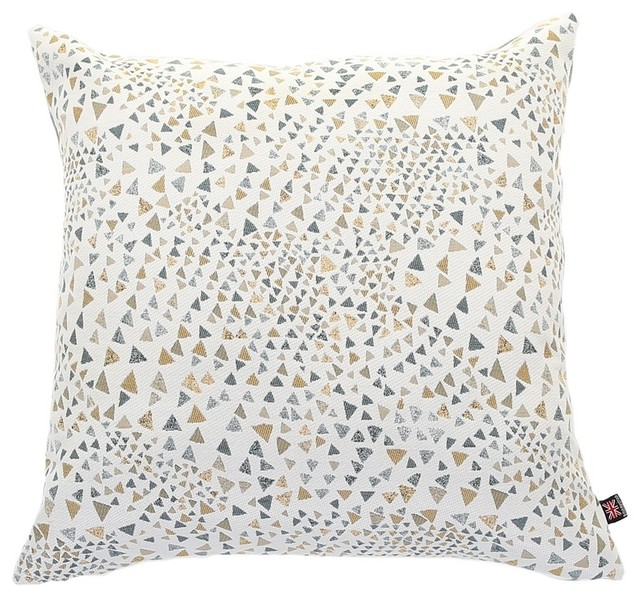 Flowing Triangles Scatter Cushion, 55x55 cm
