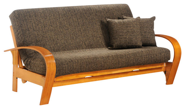 Night And Day Montreal Futon Frame Drawers Included Traditional Futons