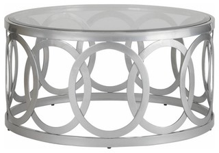 Allan Copley Designs Alchemy 38 Inch Round Cocktail Table