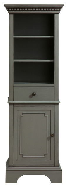 "Hastings 22"" Linen Tower, French Gray."