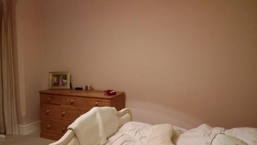 Empty Wall In Bedroom