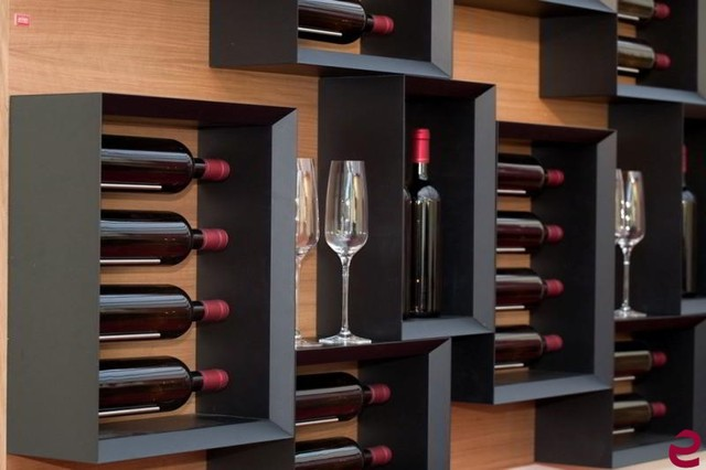 Esigo 5 , a wine bookcase for your home! - Modern - Wine ...