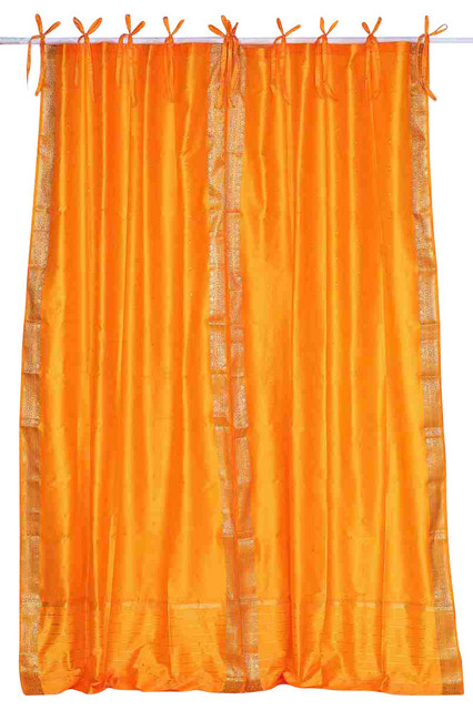 """Soft Top Drapes Textured Silk Red, Single Panel, 50""""x84"""""""