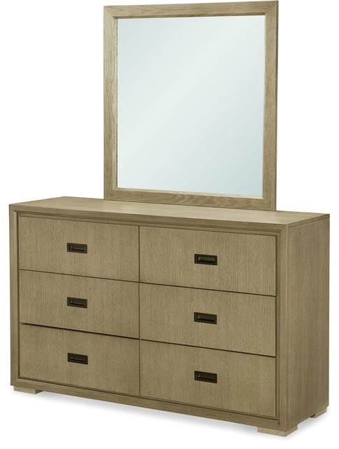 Rachael Ray Home Hudson Dresser With Mirror.