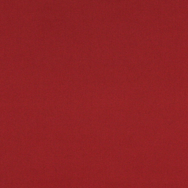 Burt Red Solid Cotton Denim Twill Upholstery Fabric By The Yard