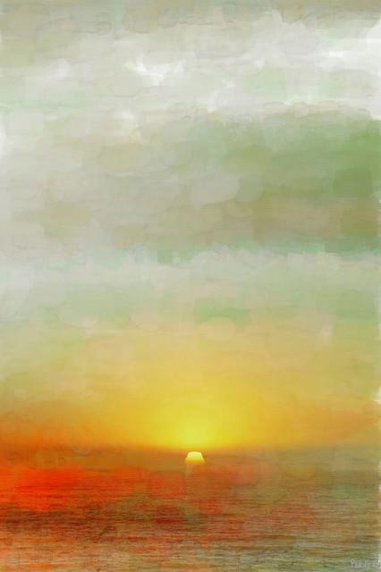 """""""Del Ray"""" Fine Art Canvas Print, 24""""x36"""""""