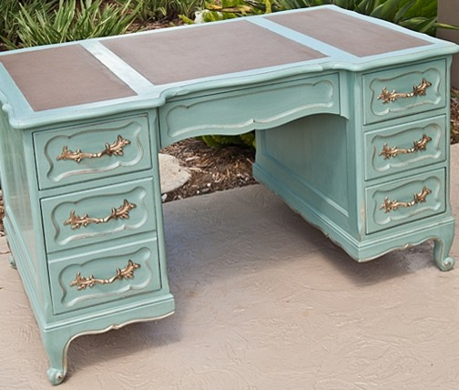 Vintage French Provincial Style Desk