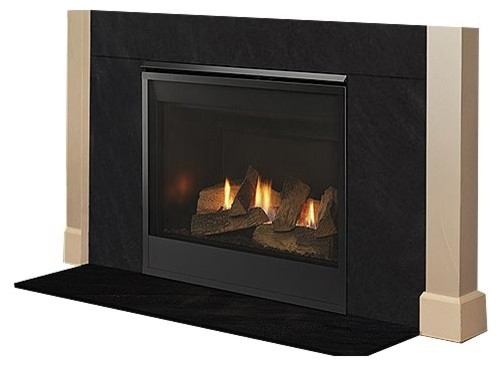Mercury 32 Top/rear Direct Vent Gas Fireplace With Intellifire, Liquid Propane.