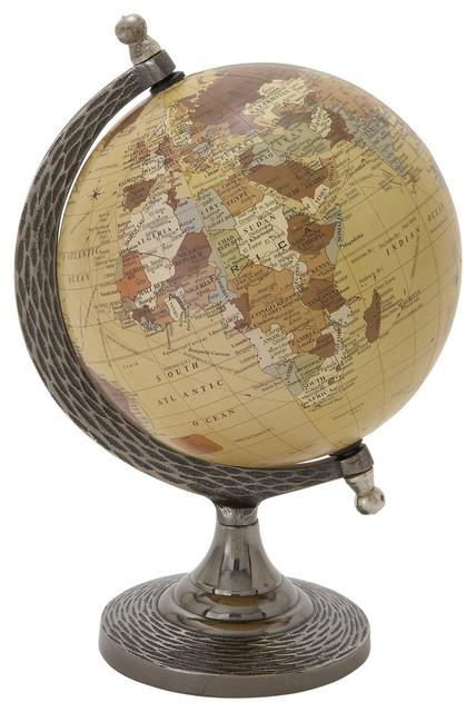 "Aluminum PVC Globe, 7""x10"""