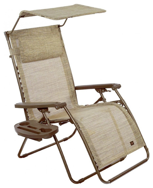Patio bliss deluxe gravity free recliner with covered for Chaise 0 gravite