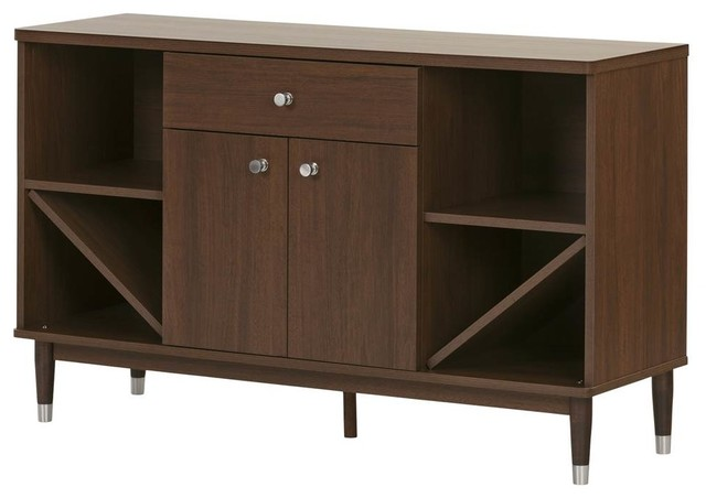 mid century modern sideboard storage cabinet contemporary buffets and sideboards by shopladder. Black Bedroom Furniture Sets. Home Design Ideas