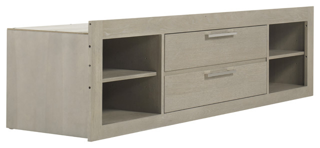 Axis Storage Unit With Side Rail Panel.