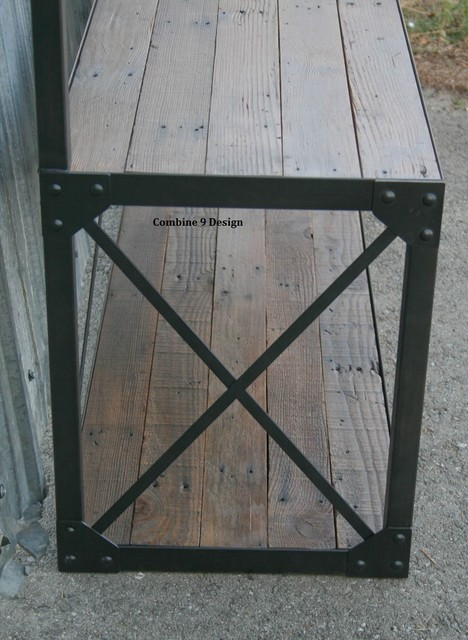Vintage Coat Rack With Seat Bench Mid Century Modern Reclaimed Wood