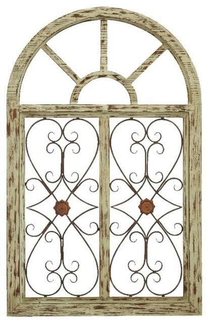 Wooden Gate Style Garden Wall Plaque Modern Kids Wall Decor