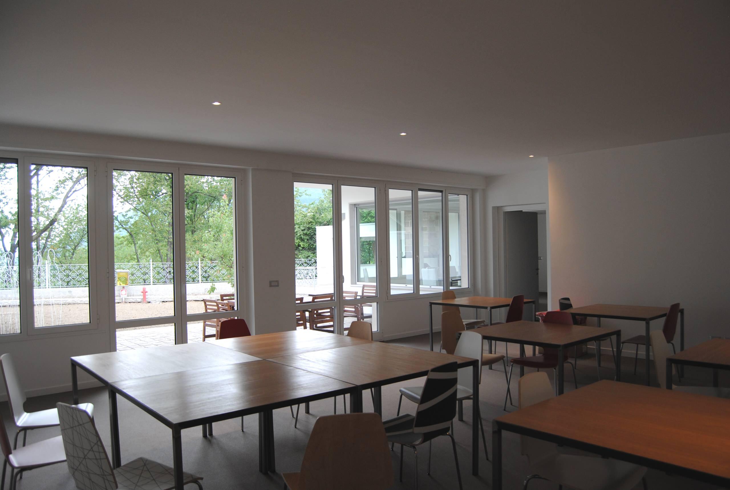 Vista area riunioni e meeting