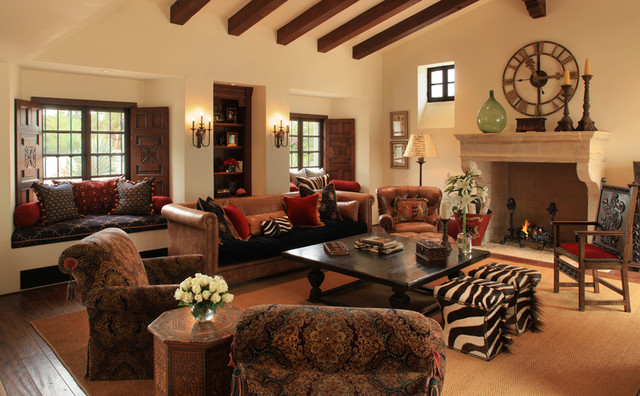 Spanish colonial for Colonial house interior design
