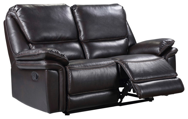 Houston Faux Leather Recliner Sofa Modern Recliner Chairs By